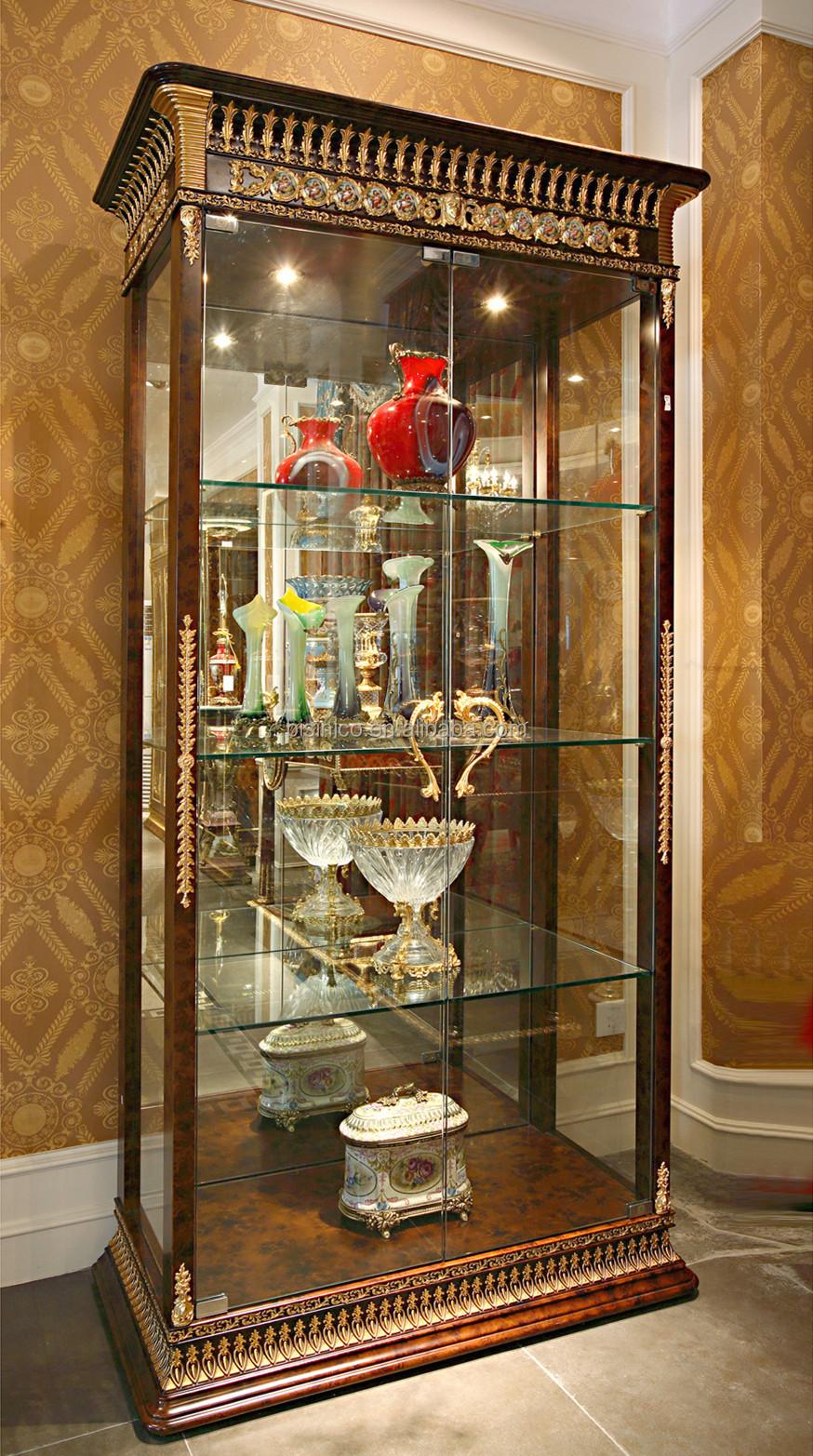 Luxus französisch barock wohnzimmer wein schrank/klassischen glas ...