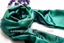 2014 new style double sided silk scarf