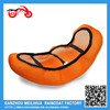 Cheap price Orange color Polyester Cool 3D Mesh Motorcycle Seat Cover