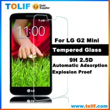 TOLIF Free Sample mobile phone competitive price Lcd screen protector wholesale for lg g2 mini tempered glass screen protector