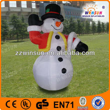 hots airblown decoration inflatable snowman
