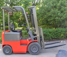 humanized design 1.5ton 4 wheel electric forklift truck