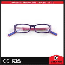Fashion Women's Acetate optical frames memory round eyeglass frames