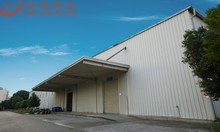 China steel structure manufacturing company prefabricated low cost warehouse