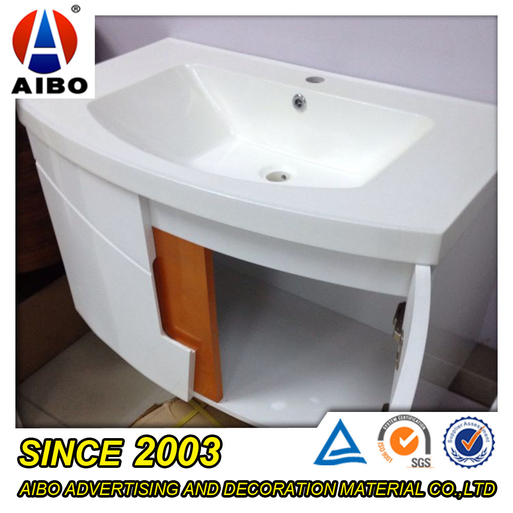 Low Cost Pvc Foam Board Fireproof And Waterproof Cabinet For Bathroom Buy Cabinet For Bathroom