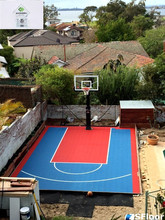 zsfloor mini size/ half basketball court flooring