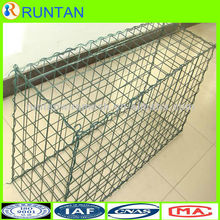 Control and guide of water or flood weld Gabion box