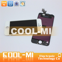 lcd display touch screen digitizer for iphone 5 digitizer screen white