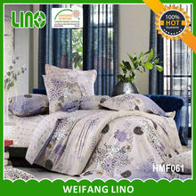 BEDDING SETS print/bed linen canada/bed sheet packaging