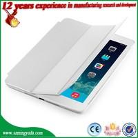 Smart Wake Sleep Function PC+PU Leather Case for iPad Air