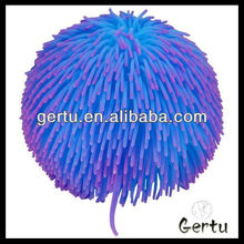 inflatable flashing long hair puffer ball