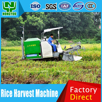 Factory Rice Harvester Combine Harvesters For Sale Chinese Factory Combine Harvester For Sale Paddy Applicable 4LZ-3.2S