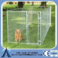 hot selling chain link rolling big unique dog cages for sale