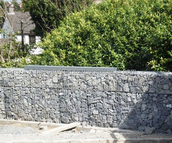 Pas cher treillis m tallique stoneworks gabion duvar gabion mur gabions tre - Fabriquer gabion pas cher ...