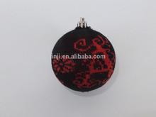 Colgante de la decoración de tela proveedor bola in China