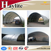 Industrial construction fabric building