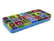 New Kobitos Supply Holder Tin Pencil Box, KOBITO Tin Case