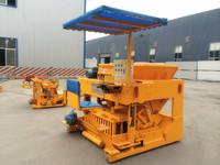 Moving Type QTM6-25 egg laying block making machine price