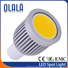 Aluminium body with CE ROHS 3W GU10 COB LED /emc panel with low heat