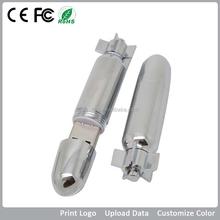 Promotional Customized Good Quality Usb Flash Drives/Grade A USB Bullet