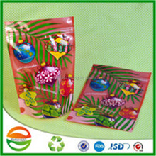 Free samples christmas tree zipper plastic surprise bag toy candy