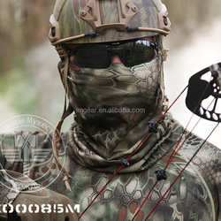 Camo Tactical Balaclava Airsoft Military Outdoor Hunting Cover Motorcycle Cycling Paintball Quick Drying Scarf Half Face Mask