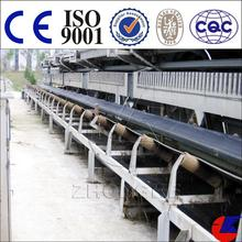 Rubber belt conveyor equipment used for metal conveying