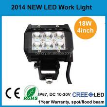 motorcycle fog lights led 18W 4 inch bar led light