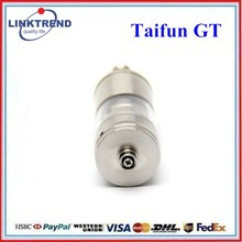 Gift packing free logo-embossed airflow adjustable 510 thread e cigarette taifun gt klon