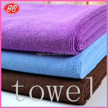 Make order for many famous brands promotional gift microfiber towel