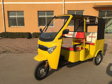 Battery operated three wheeler power tricycle for passenger