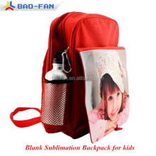 Blank Sublimation School Backpack for kids sublimation bags