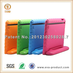 Kids Shock Proof Thick Foam EVA stand handle cheap cases for ipad air
