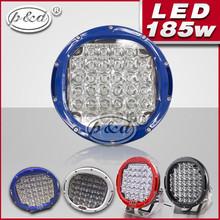 car 9inch 185w high lumens 12v led driving lights