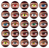 Halloween contacts anime sharingan naruto cosplay wholesale crazy contact lens