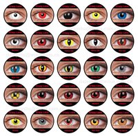 halloween contacts anime naruto cosplay wholesale crazy color contact lenses / sharingan contact lens
