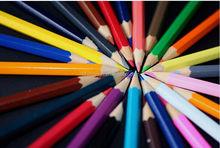 Venta de China de fábrica lápiz de color, dibujo a lápiz