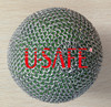 stainless steel ring mesh washable chain mail ball covers