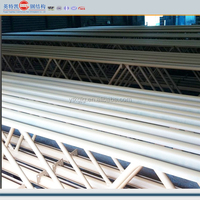steel structure roof trusses fabricated