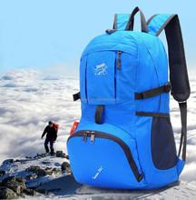 Hot sale Custom Logo Portable Waterproof ripstop nylon foldable backpack ,Type Bicycle Travel Bike Bag