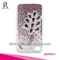 Bling Rhinestone Design Cell Phones Cases For Iphone5C 5S China Supplier