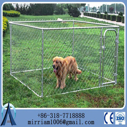 2015 New design galvanized cheap chain link outdoor dog kennels