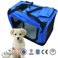 [Grace Pet] Hot Selling Bike Fabric Pet Carrier Wholesale Pet Crate