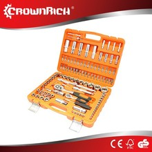 108pcs China Hot Sale Multi tool set adjustable wrench jaw+screwdriver+pliers+knife survival gear