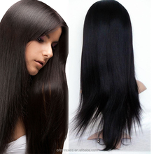 Full Lace Wig Technique and Yes Virgin Remy Hair Wholesale Cheap European Kosher Wig Straight Full Lace Wig Accept Paypal