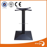 Hot sell Good Quality Inexpensive Durable Steady Square Coffee Dining Cast Iron Table Base Metal Table Leg Furniture Leg