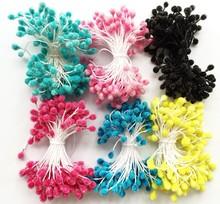 Artificial decorative foam flower Plant stamen pistil with flexible sprays DIY art craft Garland accessories