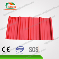 Excellent Anti Corrosion 4 Layer Apvc Roof Tile, Insulated Plastic Roof Sheet