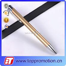 2015 newest design Good For Promotional Thin Metal Pen best selling Souvenir metal logo pen
