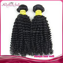 Kimberlyhair Specialized Human Virgin Hair Quality Brazilian Kinky Curly Hair Extension for Black Women